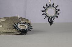 Ohrringe - Ohrringe schwarz - ein Designerstück von Sakirhala bei DaWanda