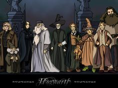 What job would you get in the world of Harry Potter? I got Hogwarts professor