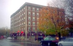 Spooky looking in the fall on a rainy day. Hawthorne Hotel - Salem, MA