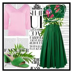 Nature's Colors by idesign-official on Polyvore featuring Boutique Moschino, Rochas, Mojo Moxy, Kate Spade and Oris