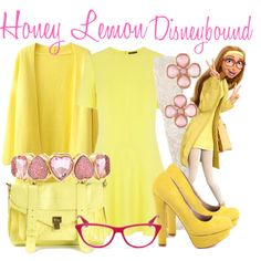 """Honey Lemon Disneybound"" by capamericagirl21 on Polyvore"