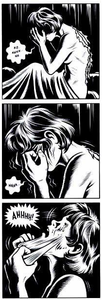 Sexe de bande dessinée ganes