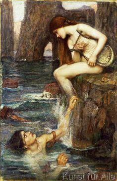 John+William+Waterhouse+-+The+Siren