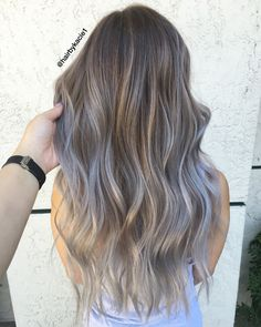 Ash Brown Hair Pastel Balayage Goals Haircuts For Fine