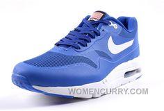 aa293e0cd9f10f Nike Air Max 87 1 American Flag Women Men Blue 36-45 Authentic