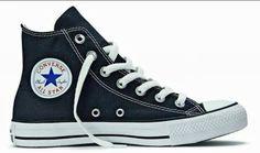 b39caf5c1f9 All star de cano alto preto ❤ All Star Preto Feminino