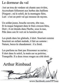 Rimbaud   , le dormeur du val