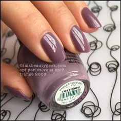 OPI Parlez Vous OPI Swatch Review France 2008 Beautygeeks _ 4