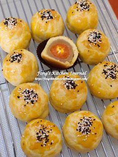 Fong's Kitchen Journal: Love at First Bite: Shanghai Moontart