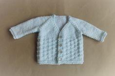 marianna's lazy daisy days: NEVIS Top-down V-neck Baby Cardigan Jacket