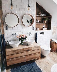 Bathroom decor for the master bathroom remodel. Discover bathroom organization, bathroom decor suggestions, master bathroom tile a few ideas, master bathroom paint colors, and more. Bad Inspiration, Bathroom Inspiration, Bathroom Ideas, Bathroom Designs, Shower Ideas, Bathroom Inspo, Budget Bathroom, Zen Bathroom, Bathroom Hacks