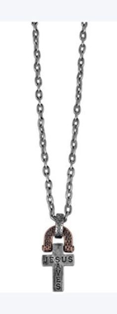 Cross Ingot Men's Christian Necklace by Kerusso by Kerusso -- Awesome products selected by Anna Churchill