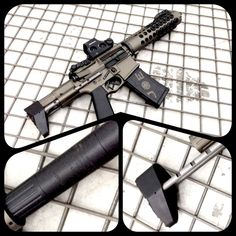 """Building a """"Honey Badger"""" copy - barrel 300 AAC Blackout - Need help! - Page 6 Tactical Rifles, Firearms, Shotguns, 300 Blackout Pistol, Ar15 Pistol, Ar Rifle, Ar 15 Builds, Ar Build, Honey Badger"""