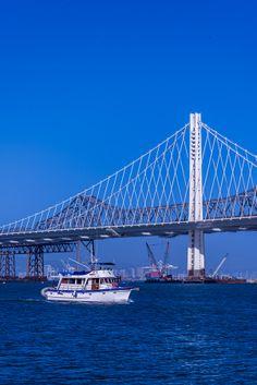 New east span of the San Francisco-Oakland Bay Bridge, California