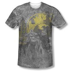 Batman Gotham The Dark City Official Sublimation ALL OVER Vintage T-shirt top  Available In Sizes:Small, Medium, Large, XL, 2XL #Batman #BruceWayne #TheDarkKnight #DCComics #JLA  #TheCapedCrusader #BatLogo #BatSymbol #BatSignal #JusticeLeague #GothamCity #BatmanTshirt