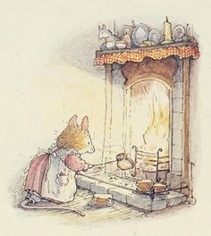 Toasty Toasting by Jill Barklem (Brambly Hedge)