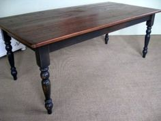 Very Rustic Dining Tables