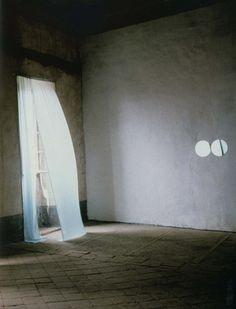 "rifles:  Felix Gonzalez-Torres:""Untitled"" (March 5th) #1"" Castello di Rivara, Turino, 1991."
