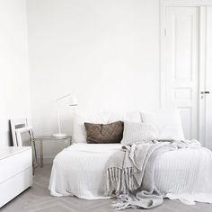 always remember to fall asleep with a dream and wake up with a purpose | white interior inspiration