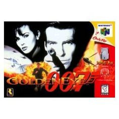 Goldeneye 007 on the N64 - hasn't aged well, but the nostalgia is still there