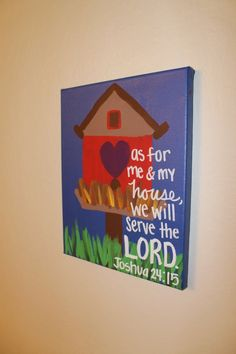 Cute Verse Canvas Paintings