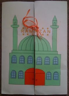 Here is the first lapbook I prepared. Our subject is the month of Ramadan and fasting.