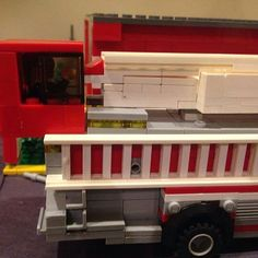 After I @wcsilver72 was climbing the tiller ladder at Brickshore District Fire and Rescue @cityofbarrybrick in Barrybrick Pennsylvania. The guys let me drive the cab section of the tiller!! Loved it! Thank You Gentlemen had a blast! #firefighter #fdfamily #firetruck #tiller #firelife #lego #legobricks #legofire #legofirefighters #legoladdertruck #legotiller #bricks #brickstagram #legofiretruck #legofiretrucksofinstagram #legostagram #legophotography #toyphotography #toys #toystagram…