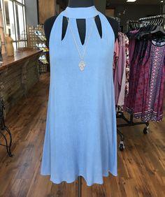 Cute baby blue dress #hellospring