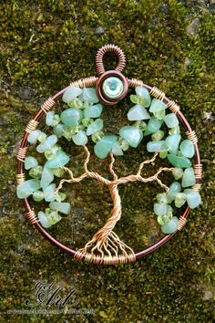 Tree+of+Life++Summer+por+GelArt+en+Etsy,+$19,00
