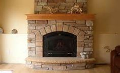 keystone arch on fireplace - Bing Images