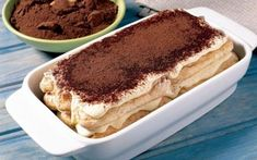 "The Tiramisu dessert! This recipe is ""borrowed"" from an Italian cook who is specialized in Italian Desserts, including Tiramisu. Indulge yourself with the most known Italian Dessert in the world: Tiramisu! Italian Desserts, Italian Recipes, Tiramisu Dessert, My Cookbook, Recipe Instructions, Chocolate Shavings, Whipped Topping, Perfect Food, Other Recipes"
