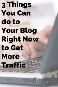 Get more traffic on your blog. Learn how to optimize your posts for search and find out other ways simple ways to drive more traffic to your blog.