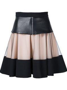 falda en capas