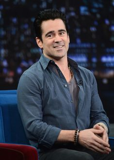 Colin Farrell - Colin Farrell Visits 'Late Night with Jimmy Fallon'