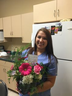 Congrats Dina on passing your E.F.D.A exam. Good Job! We all knew you could do it!!