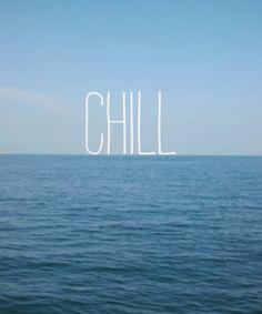 Chill – Chill, blue, ocean, water