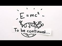 E=mc² is really E²=(mc²)² + (pc)² I love using the pythagorean theorem to demonstrate this. And it helps explain why the speed of light is the universal speed limit. Science Facts, Science News, Science Lessons, Science Experiments, Science And Technology, Science Cartoons, Science Today, Science Videos, Science Fun