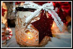 christmas glass jar idea