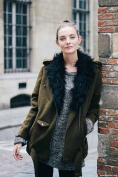 Polienne | a personal style diary by Paulien Riemis - THE ARMY JACKET