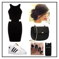 """""""Untitled #539"""" by juliatini-je on Polyvore featuring AX Paris and adidas"""