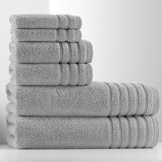 Simply Vera Vera Wang Pure Luxury 6-pc. Bath Towel Value Pack, Light Grey