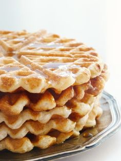 Waffle Iron, Apple Pie, Cake Recipes, Pancakes, Sandwiches, Deserts, Food And Drink, Sweets, Bread