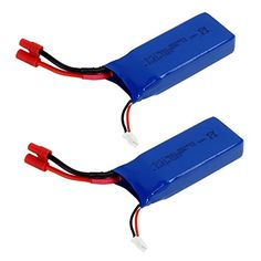 2PCS 74v 2000mah Lipo Battery For Syma X8HG X8HW X8HC X8 X8C X8W X8G RC Quadcopter Parts Drone Battery >>> Read more reviews of the product by visiting the link on the image.Note:It is affiliate link to Amazon.