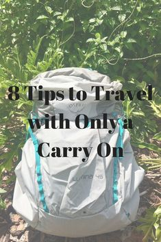 8 Tips to Travel wit