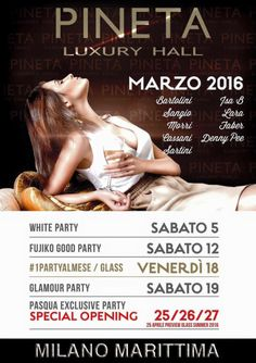 Events of March MiMa Milano Marittima by night