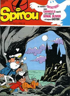 A Spirou cover from 1979 by Carlos Roque.