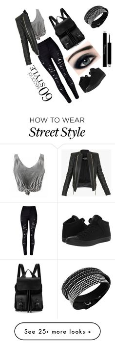 """60 seconds"" by sidranaseer on Polyvore featuring WithChic, Converse, Balmain, Aspinal of London, Swarovski, Christian Dior, DRAKE, views and 60secondstyle"