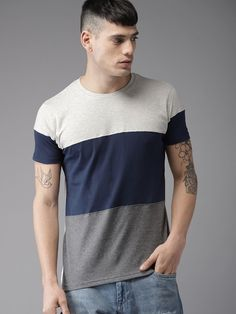 Fabric: Cotton Type: Stitched Description: It Has 1 Piece Of Men's T-Shirts Work: Solid Casual T Shirts, Boys T Shirts, Men Casual, Men's Shirts, Xl Fashion, Grey Fashion, Polo Shirt Design, Latest T Shirt, Shirt Mockup