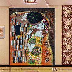 3D Photo Wallpaper Gustav Klimt The Kiss Wall Mural Room Decorative Painting…