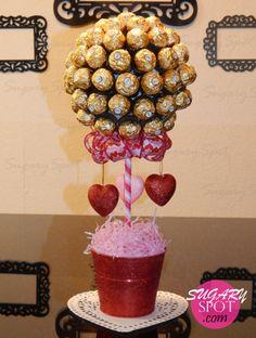 DIY- Bouquet de Chocolates para San Valentin. Hazlo tu mism@ con este tutorial paso a paso ♥